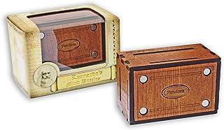 Logica Puzzles Art. Pandora Secret Box - Jurgen Reiche Edition - Brain Teaser in Fine Wood - Difficulty 5/6 Incredible - L...