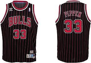 adidas Chicago Bulls Scottie Pippen Youth Soul Swingman Jersey - Black,