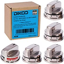 5-Pack Replacement Gas Range Knob for LG LRG30355ST