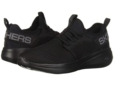 SKECHERS Go Run Fast Valor (Black) Men