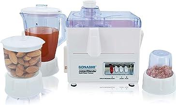Sonashi 4 In 1 Juicer / Blender / Grinder / Meat Mincer SJB-307