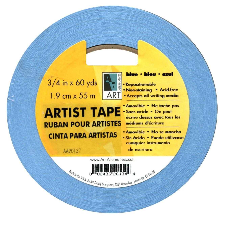 Artists Tape Blue 3/4In X 60Yds