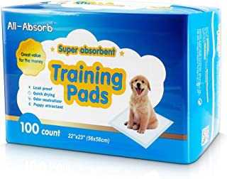 Training Pads, Pack of 100 (22-inch by 23-inch)