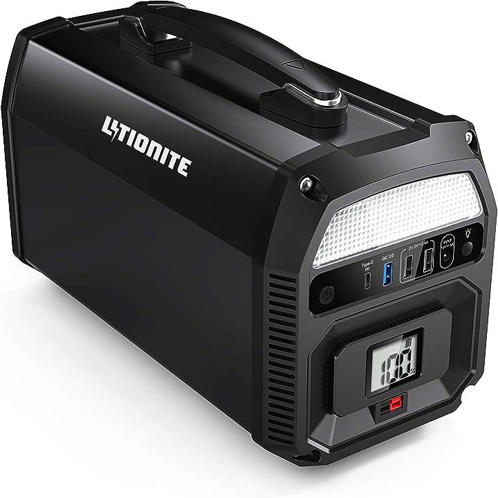 Generatore di corrente elettrico portatile litionite titan 500w / 140.000mah B076DF59ZC