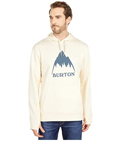 Burton Oak Pullover Hoodie (Creme Brulee Heather) Men