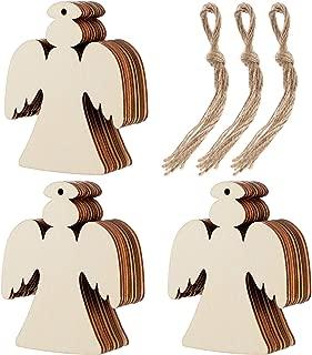 wood angel cut out shapes