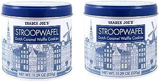 Trader Joe's Stroopwafel Caramel Waffle Cookies 2 pack