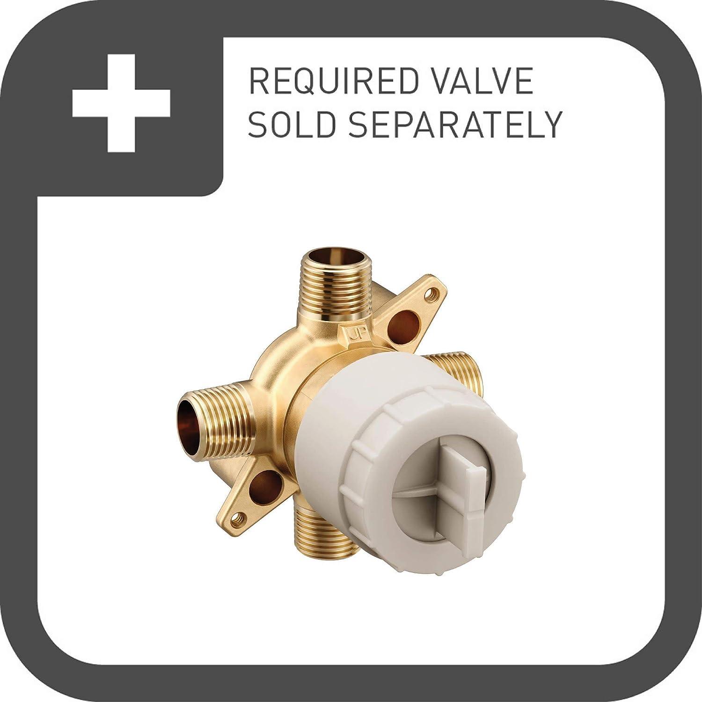 Brushed Gold Valve Required Moen UT3291BG Align M-CORE 3-Series 1-Handle Trim Kit