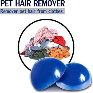 Pet Hair Cleaner Remove Dog Hair Cat Fur on Clothes, Reusable Pet Hair Remover for Dryer Furniture Bedding Fur Catcher Lint Removal