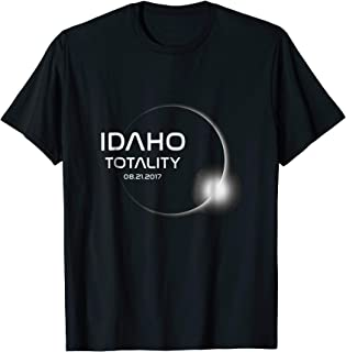 Eclipse Idaho Totality T Shirt - 2017 Eclipse