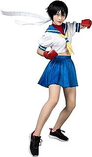 Classic Game Haruno Sakura Sailor Suit Cosplay Costume mp000353