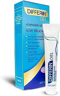 Gel Con Adapalene 0.1% Tratamiento Para Acné 30 Días Poros Obstruidos, 15 Gramos