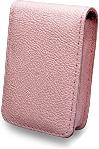 B29 Pink Faux Leather Camera Case Pouch for CASIO EXILIM ZS10 ZS5 Z16 ...