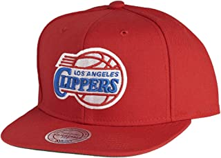 san francisco 9c60c 10941 Mitchell   Ness Los Angeles Clippers Wool Solid Snapback Cap NL99Z Kappe  Basecap