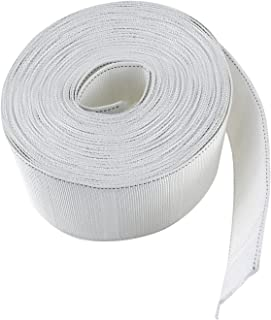 NKTM 11 Yard Curtain Tape Curtain Heading Deep Pinch Pleat Tape White
