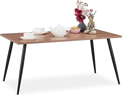 Huahua Furniture Mesa de Centro,Mesita de Café, en Forma de C ...