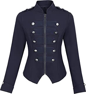 Best double button military jacket Reviews