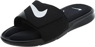 Nike Men's Ultra Comfort Slide (8 D(M) US, Black/White-Black)
