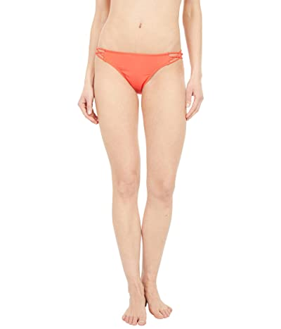 Volcom Simply Solid Full Bottoms (Electric Coral) Women