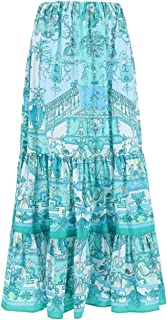 Etro Luxury Fashion Donna 141664413500 Azzurro Altri Materiali Gonna | Ss21