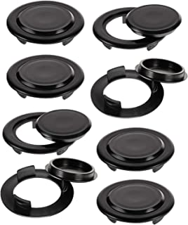 Frienda 2 Inches Umbrella Hole Ring and Cap Set Patio Table Hole Plug Table Hole Ring Plug for Patio and Garden Standard T...