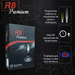 Kit Lampada Led Ultra Led R8 Premium Hb4 6000k 4000 Lumens