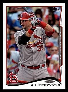 2014 Topps Update # 145 A.J. Pierzynski St. Louis Cardinals (Baseball Card) Dean's Cards 8 - NM/MT Cardinals