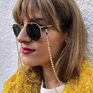 Sethexy perle Visage Lunettes Chaîne Or Mode Perles Chaîne de masque Femmes Chaîne de lunettes de soleil Accessoires pour ...