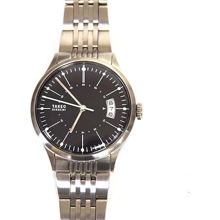 TAKEO KIKUCHI タケオキクチ 腕時計 メタルブレス 自動巻 シルバー 20F8B34D (並行輸入品)