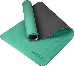 Vanerdun Anti-slip oefening yogamat - milieuvriendelijk TPE met antislip textuur op het oppervlak, hoge elastische profess...