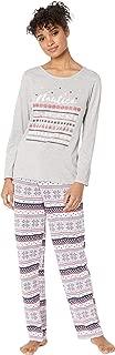 Womens Graphic Pajama Set