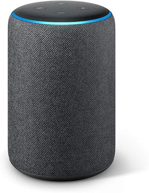 Echo Plus (2.ª generación) - Sonido de alta calidad y controlador de Hogar digital integrado tela de color antracita