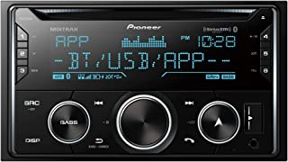 Pioneer FH-S722BS Double DIN CD Receiver with Built-In Bluetooth