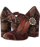 Etro - Carpet Print Mary Jane Heel