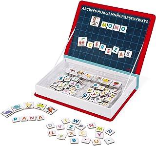 Janod - Magneti'Book Alfabeto juguete educativo, Version en Español (J02714)