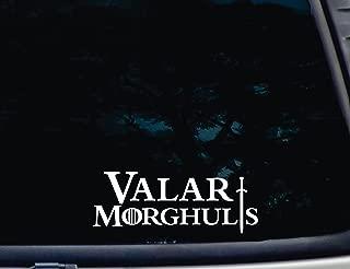 Best valar morghulis car sticker Reviews