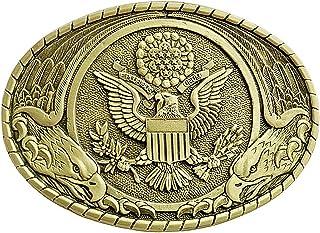 Indiana Metal Craft Men`s Us Seal Belt Buckle