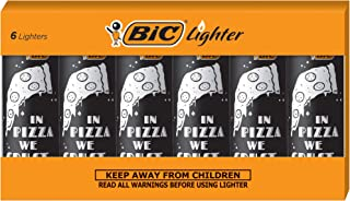 BIC Special Edition Favorite Series Pizza Lighters, Set of 6