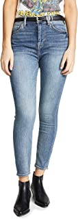 7 For All Mankind Women's B(air) Authentic Fortune Jeans
