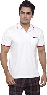 Basic DryNCool Polo Shirt for Men I Basic Everyday T shirt slim fit Comfort wear I Moisture Wicking Fabric - By Santhome