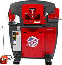 Edwards JAWS 75-Ton Ironworker with Accessory Pack - 3-Phase, 575 Volt, Model Number IW75-3P575-AC600
