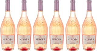 Juvé & Camps | Vino Aurora d'Espiells | 6 botellas de 75 cl | D.O Penedes Rosado | Pinot Noir, Xarel·lo