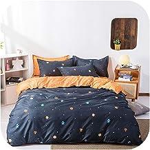 Bed Sheet:Home Textile Dinosaur Land Cartoon Blue Duvet Cover Pillowcase Flat Bed Sheet Teen Boy Girl Bedding Linen Set-20...