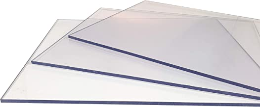 Polycarbonat Lexan Platte  klar 1220 x 915 x 0,5 mm