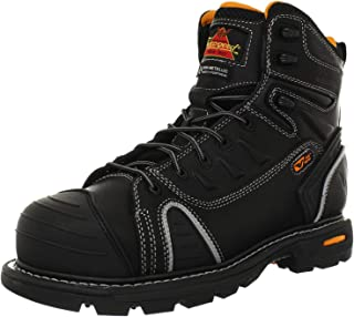 "Thorogood Men`s GEN-flex2 Series - 6"" Cap Toe, Composite Safety Toe Boot"