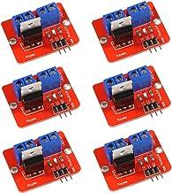 AiTrip 6 PCS IRF520 Mosfet Button Driver Module for Arduino MCU ARM Raspberry PI