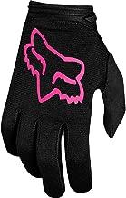 2019 Fox Racing Youth Girls Dirtpaw Mata Gloves-Black/Pink-YL