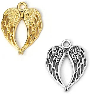 Angel Wing Pendant Shell MOP Wing Wing Pendant Bead  23x53x3mm  DIY Jewelry Making Large Pendant Wire Wrapping Pendant Pendants