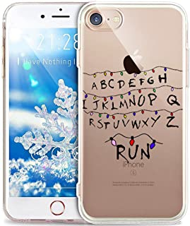 iPhone 6S Case,iPhone 6 Case,ikasus Xmas Christmas Snowflake Serie,Soft Silicone Rubber Bumper Case,Crystal Clear Soft Clear Silicone Back Case Cover for iPhone 6S / 6 4.7
