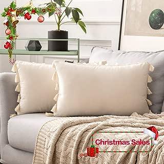 Best white fringe pillow Reviews